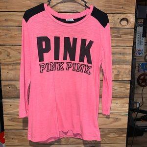 Victoria's Secret PINK Long sleev Short Size Large